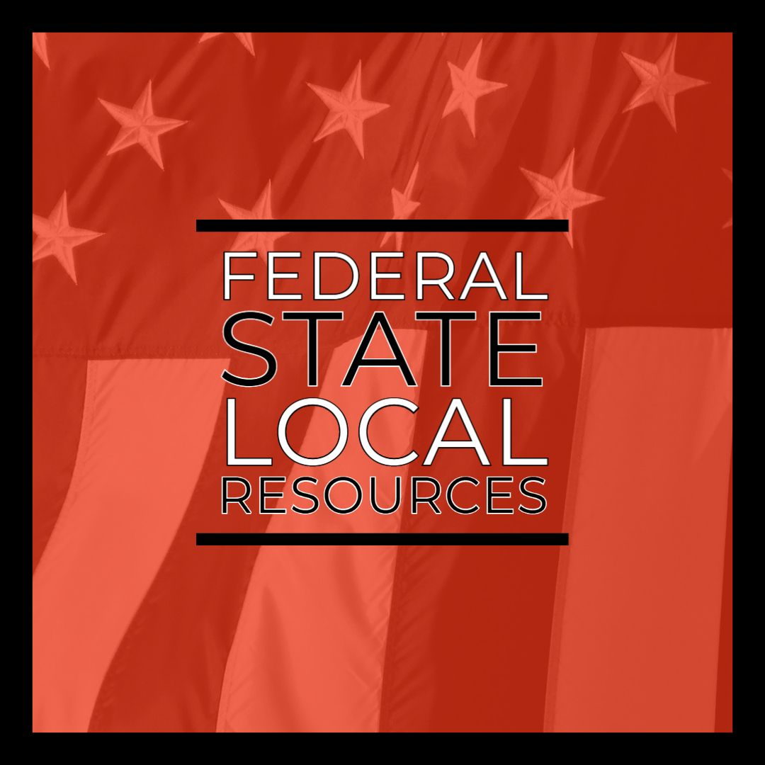 Federal, State and Local Resources