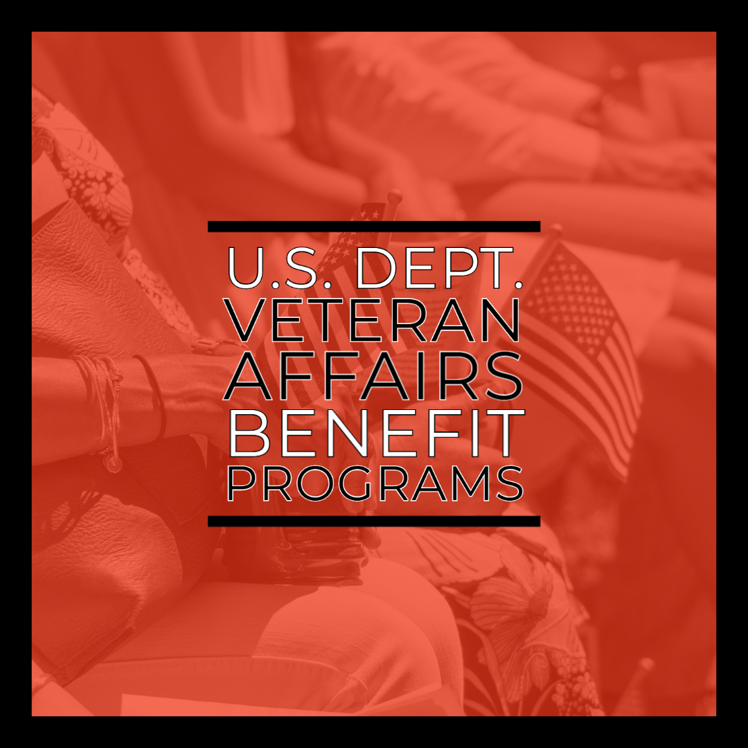 U.S. Department of Veteran Affairs Benefit Programs
